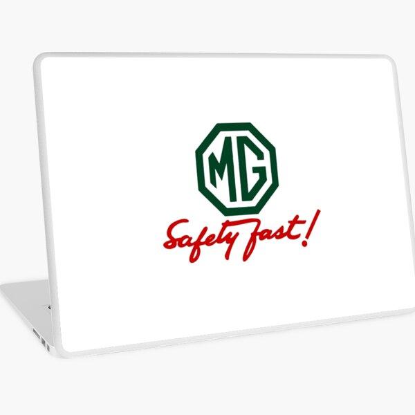 MG Safety Fast Laptop Skin