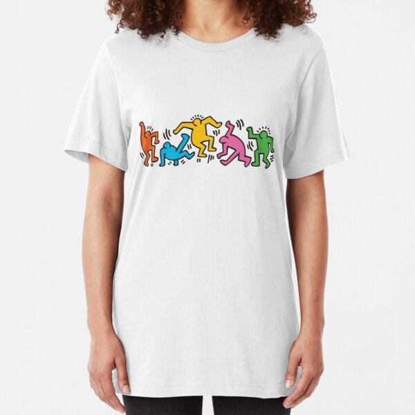 Together we can dance Slim Fit T-Shirt