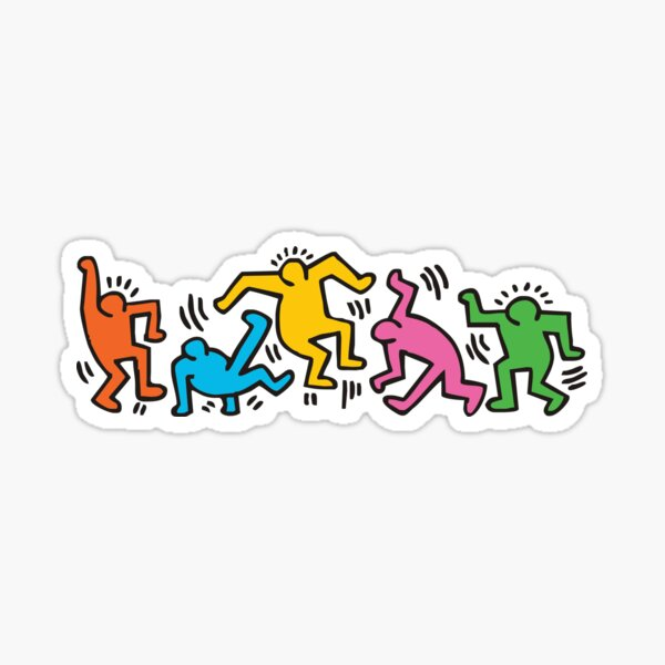 Together we can dance Sticker