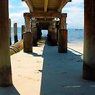 Shoal Bay Jetty by Tony Waite