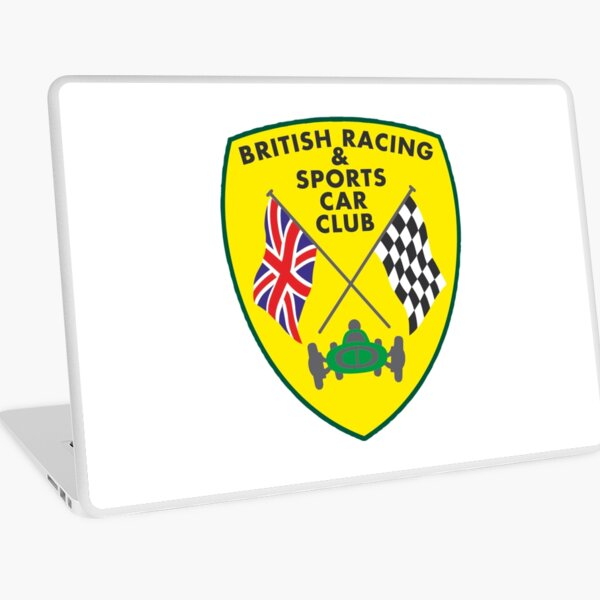 British Racing & Sports Car Club Laptop Skin