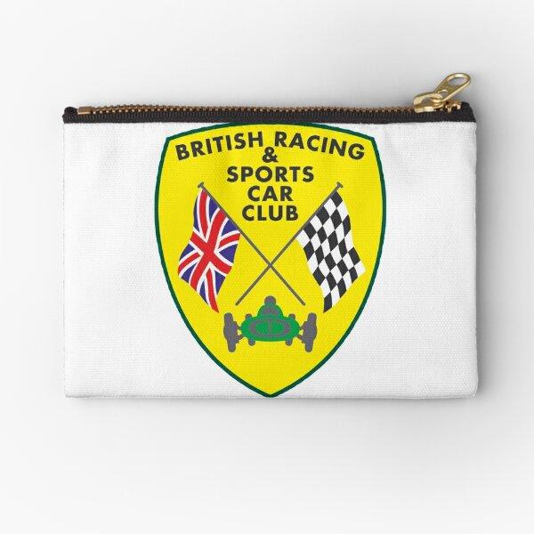 British Racing & Sports Car Club Zipper Pouch