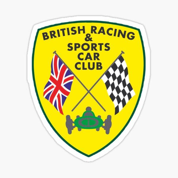 British Racing & Sports Car Club Sticker