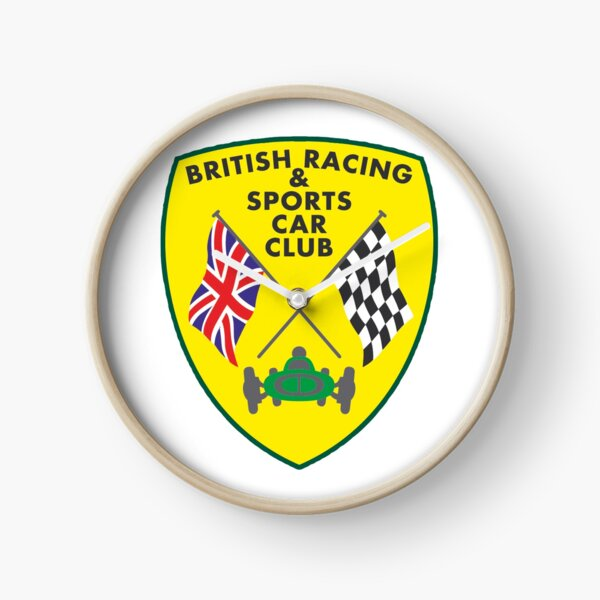 British Racing & Sports Car Club Clock