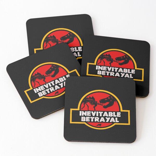 Jurassic Betrayal Coasters (Set of 4)