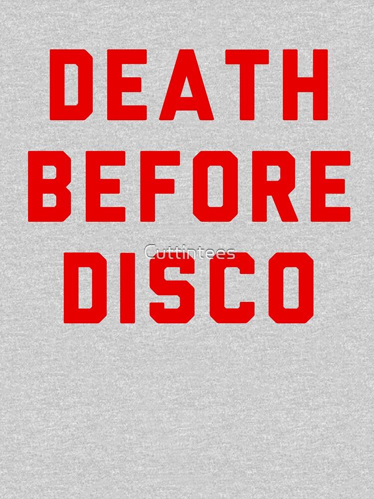 Stripes Death Before Disco Judge Reinhold by Cuttintees