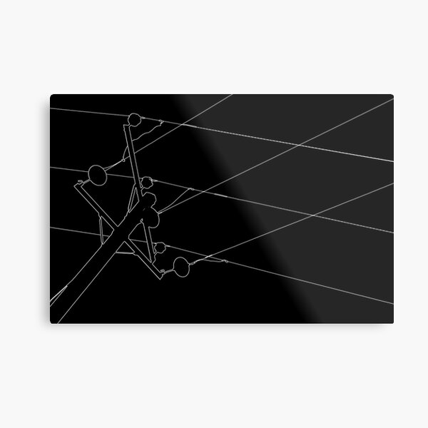 Pylon II Metal Print