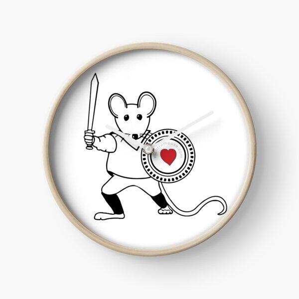 MantraMouse® Warrior Pocket Logo Clock