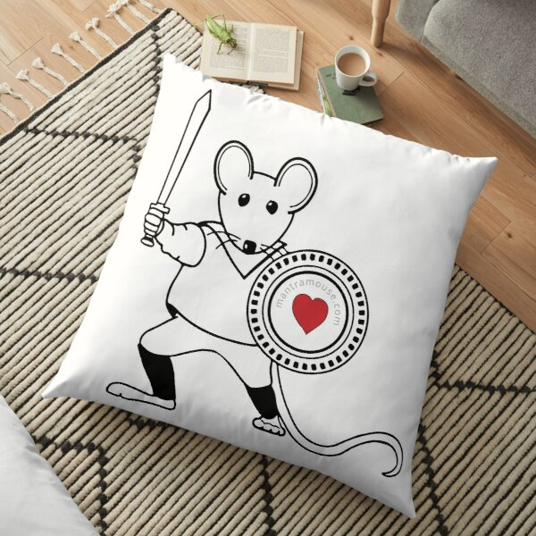 MantraMouse® Warrior Pocket Logo Floor Pillow