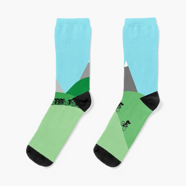 Cycling in the Hills Socks