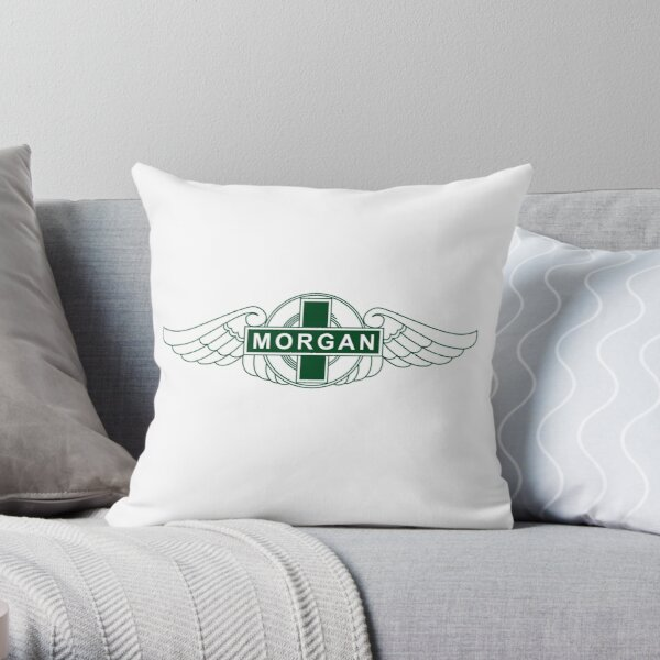 Morgan Motor Car Company Throw Pillow