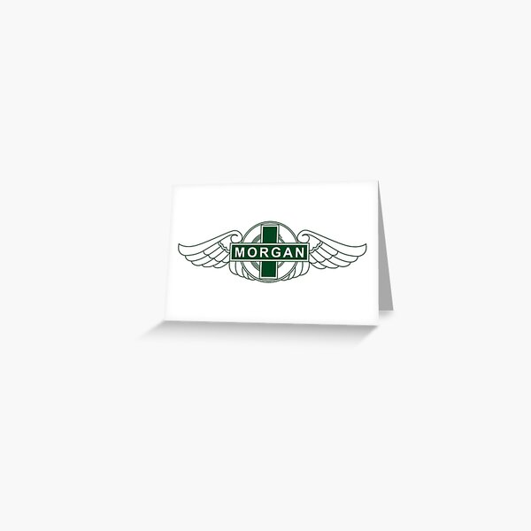 Morgan Motor Car Company Greeting Card