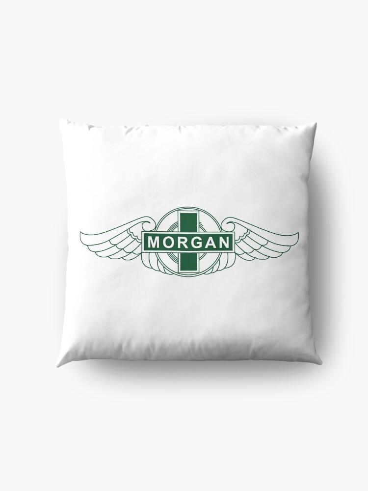 Alternate view of Morgan Motor Car Company Floor Pillow