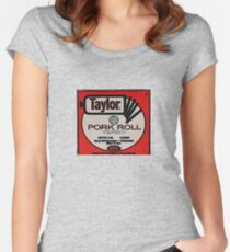 Pork Roll Women's Fitted Scoop T-Shirt