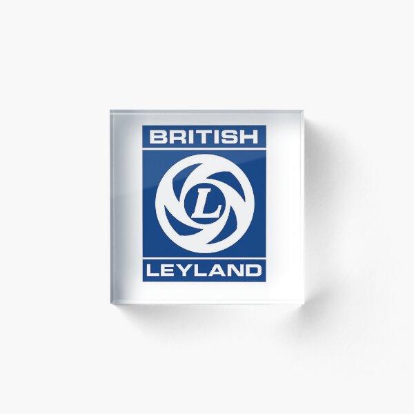 British Leyland Logo Acrylic Block