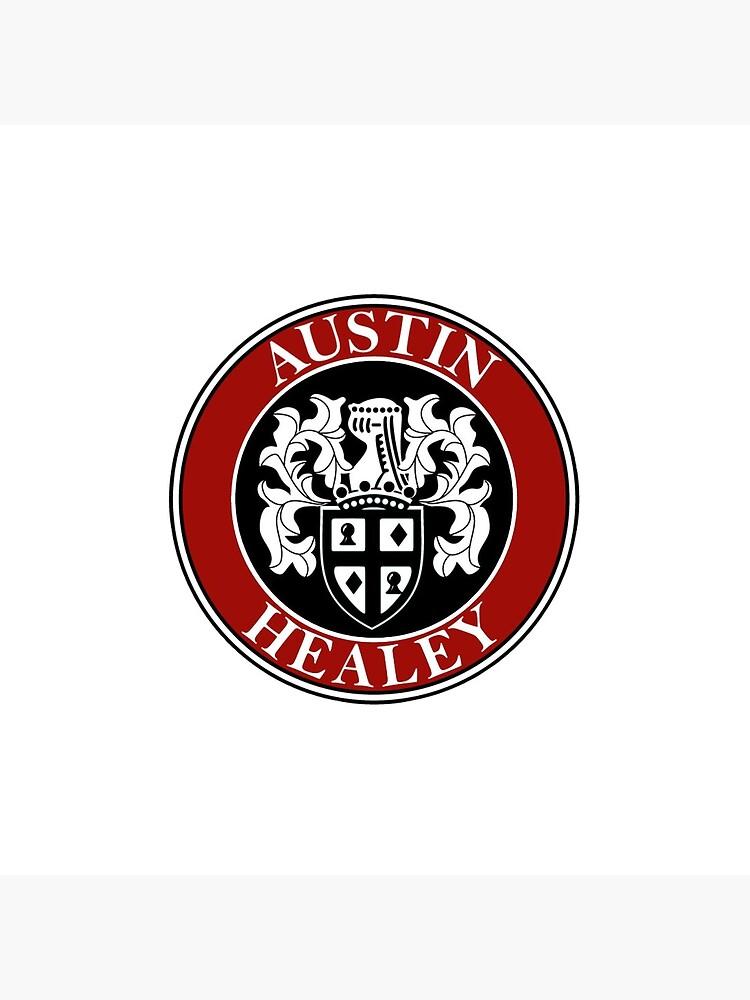 Austin-Healey Shield Logo by JustBritish