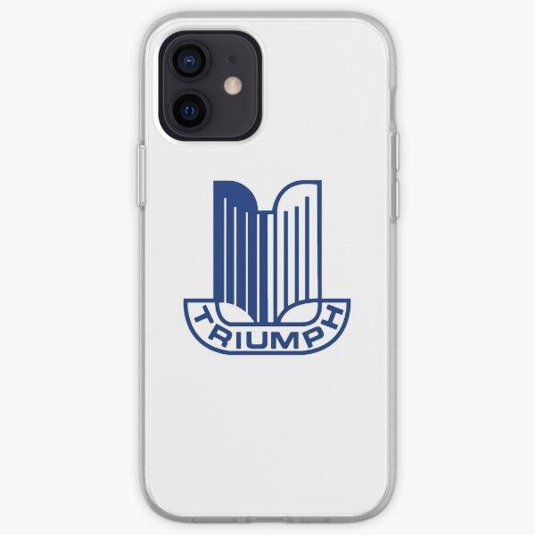 Blue Triumph Logo iPhone Soft Case