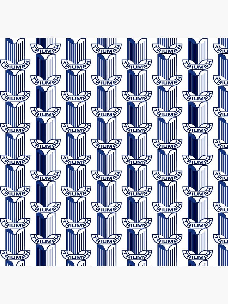 Blue Triumph Logo by JustBritish