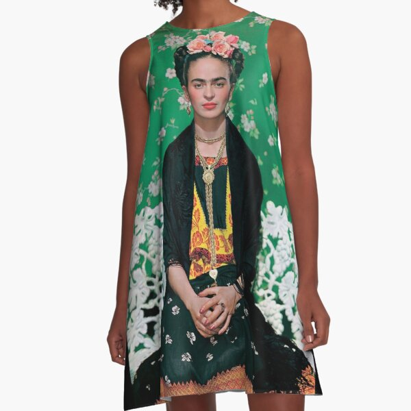 Frida Kahlo A-Line Dress