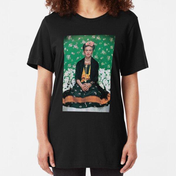 Frida Kahlo Slim Fit T-Shirt