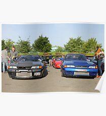 Nissan Skyline GTR R32 Poster