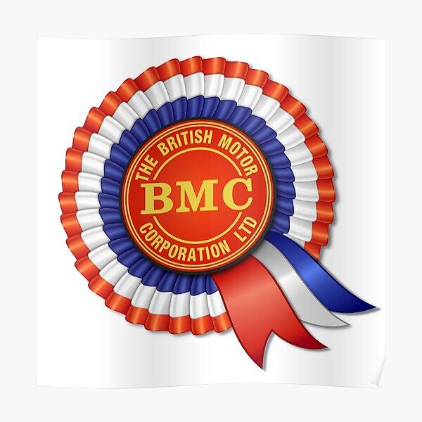 British Motor Corporation (BMC) Rosette Poster