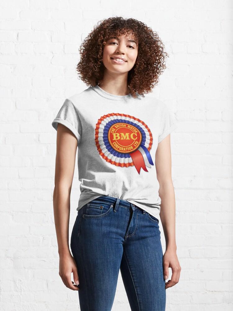 Alternate view of British Motor Corporation (BMC) Rosette Classic T-Shirt