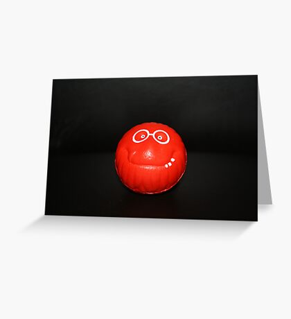 My Big Red Nose Greeting Card