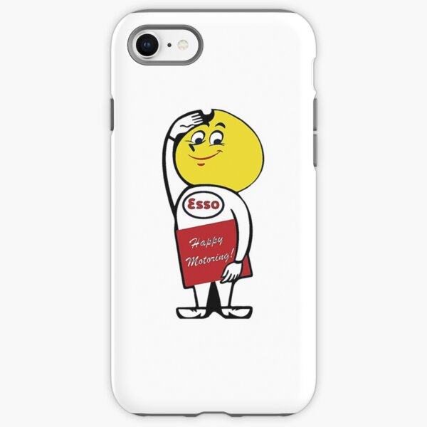 Vintage Gas and Oil Sticker iPhone Tough Case