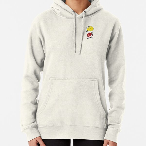 Vintage Gas and Oil Sticker Pullover Hoodie