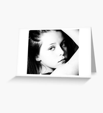 LITTLE ANGLE 2 Greeting Card