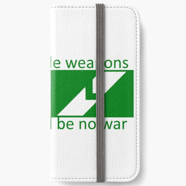 If Lucas Made Weapons, There Would Be No War iPhone Wallet