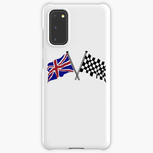 Crossed flags - Racing and Great Britain Samsung Galaxy Snap Case