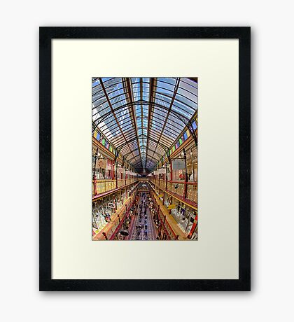 The Queen Victoria Building - Sydney - Australia Framed Print