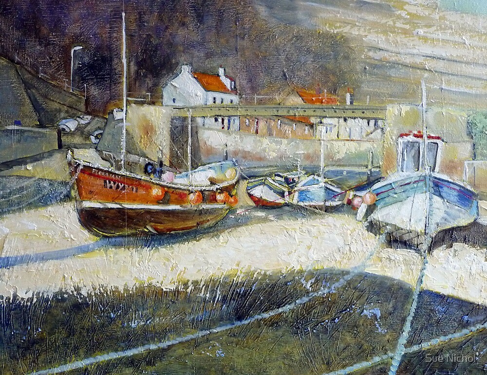 Staithes Beck by Sue Nichol
