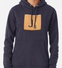 Scrabble Letter Tile 'J' Pullover Hoodie