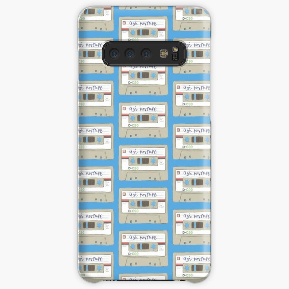 90's Mixtape Illustration Case & Skin for Samsung Galaxy