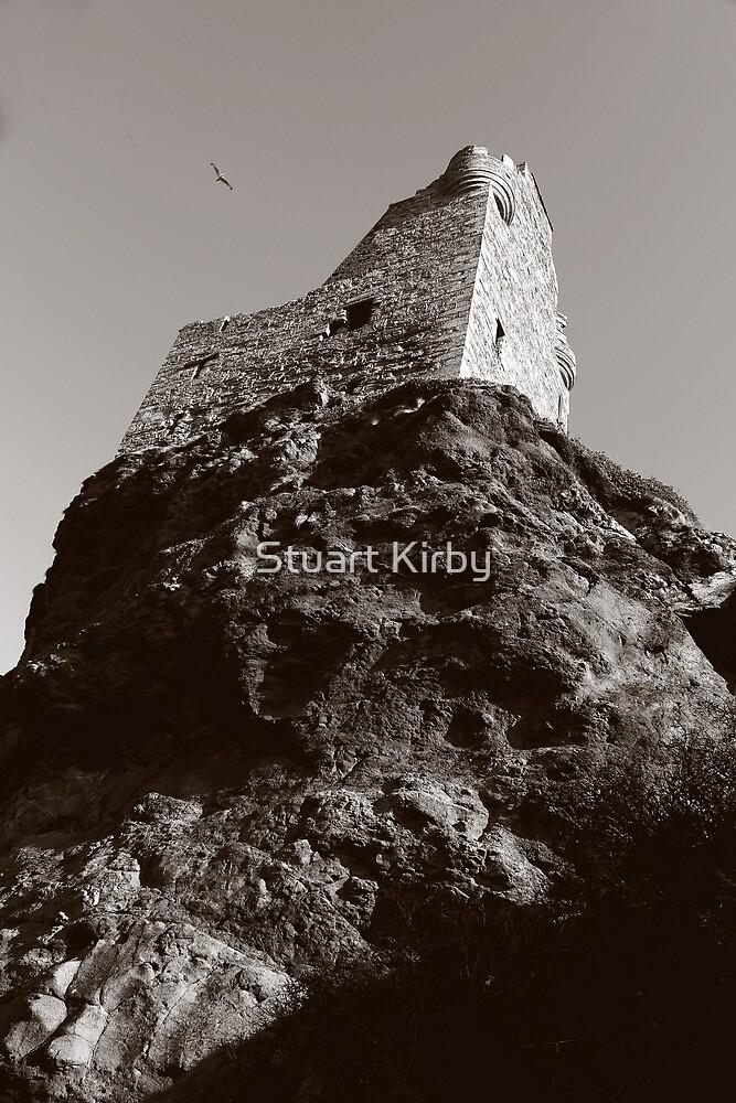 Greenan Castle Doonfoot Ayrshire Scotland by Stuart Kirby