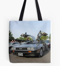DeLorean Tote Bag