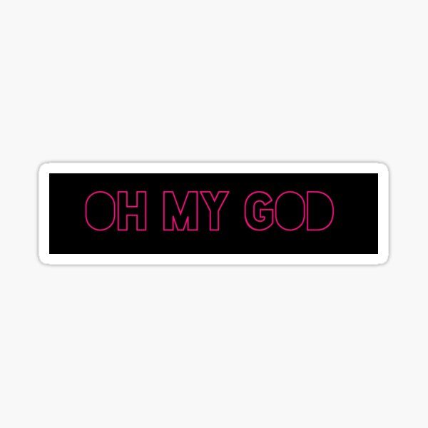 Shane Dawson OH MY GOD Sticker