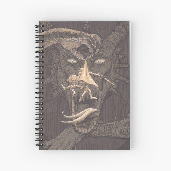 Dragons prefer when it's crispy Spiral Notebook