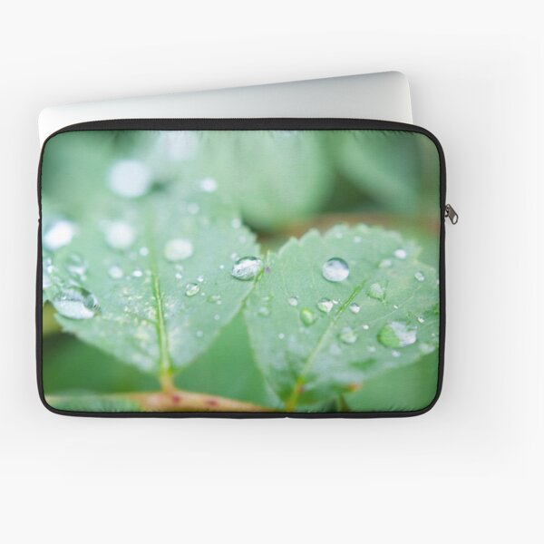 After the rainfall Laptop Sleeve