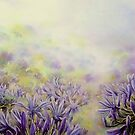Agapanthus, A study in Blues & Lavenders ! by LorusMaver