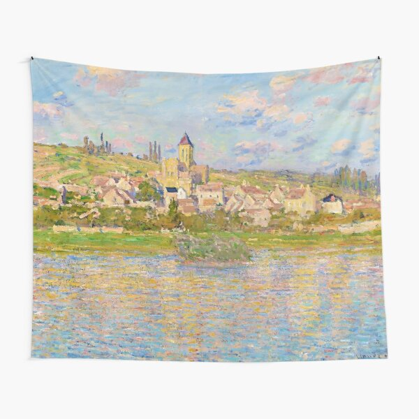 Vétheuil by Claude Monet (1879) Tapestry
