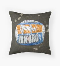 Flat not Fizzy Throw Pillow