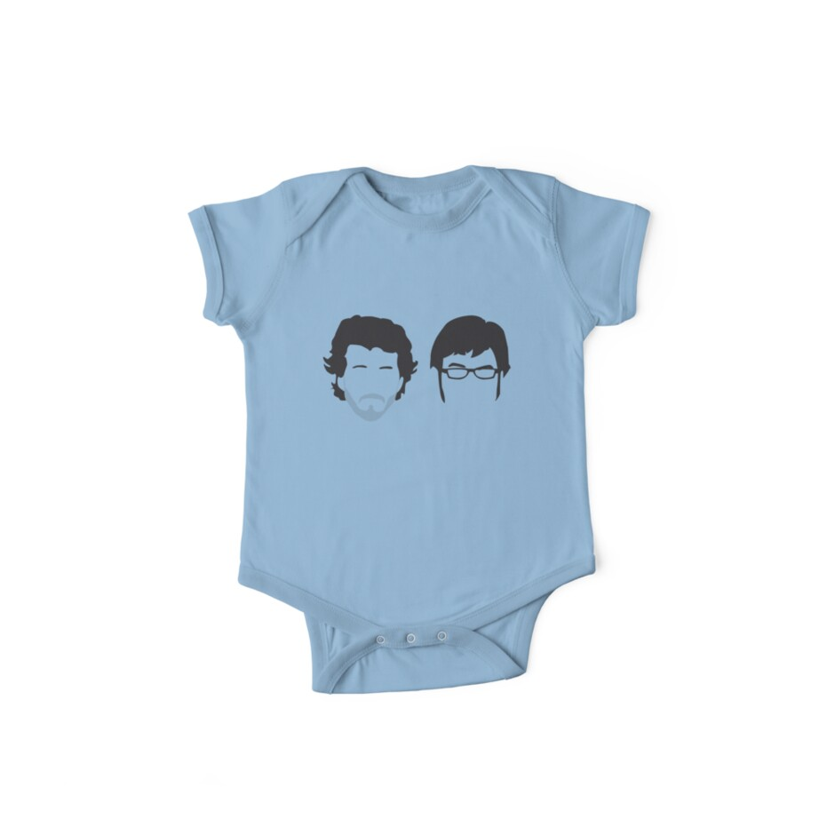 Flight of the Conchords Silly-ettes by maclac