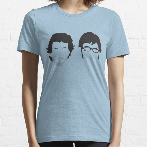 Flight of the Conchords Silly-ettes Essential T-Shirt