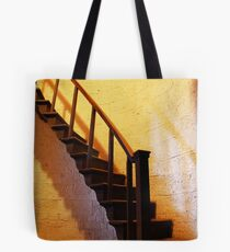 St Lawrence, Mereworth - Belfry Stairs Tote Bag