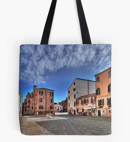 A hidden, quiet Venice - Campo de l'Anzolo Rafael Tote Bag