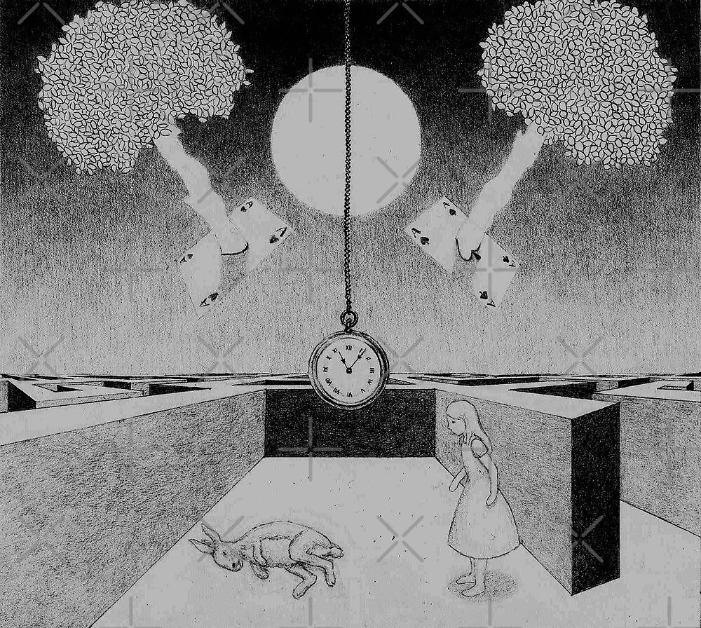 Alice in Wonderland by Ronja